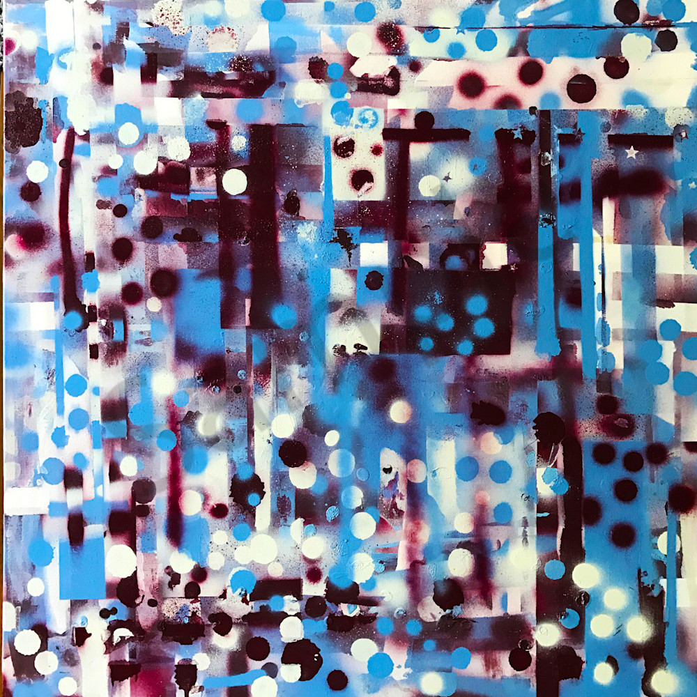 Philly Pride - Original Abstract Painting by Soma79