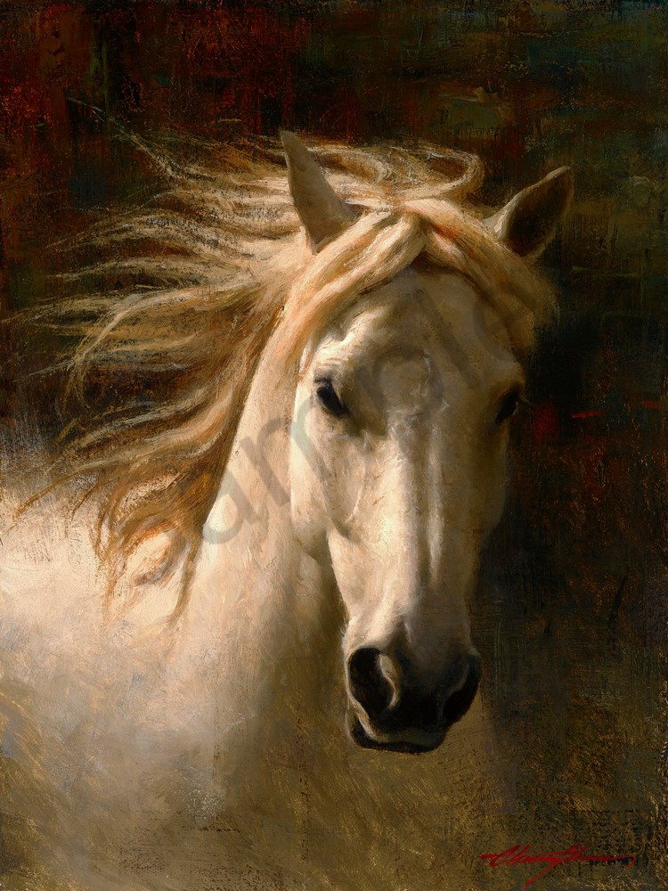 Golden Boy | Southwest Art Tucson Gallery | Horse Painting