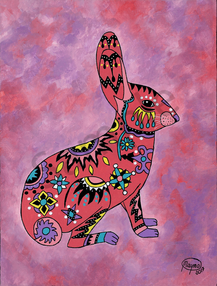 Wild Rabbit Art for sale.