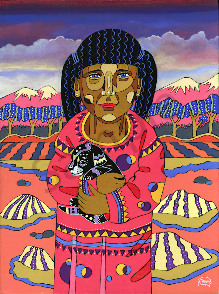 Gabriella from the Andes Art for sale.