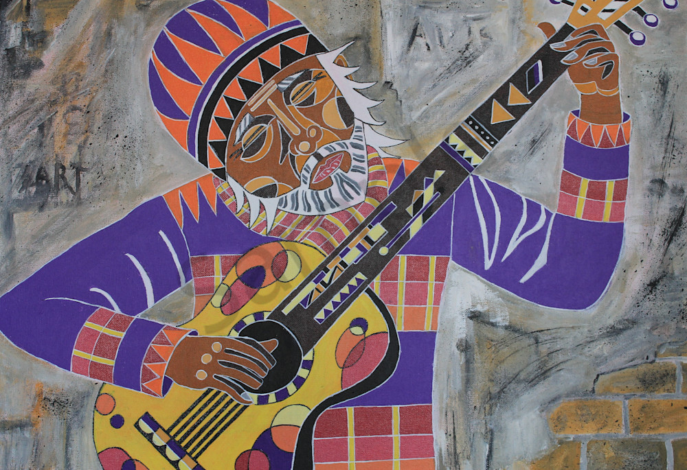 Street Guitar Art for sale