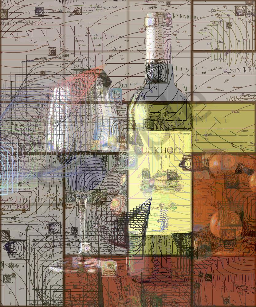 Duckhorn Wine art, pride of Napa Valley. Duckhorn Wine, Napa Valley, California, USA.  Prints, canvas, posters by Peter McClard at BrillianceGallery.com