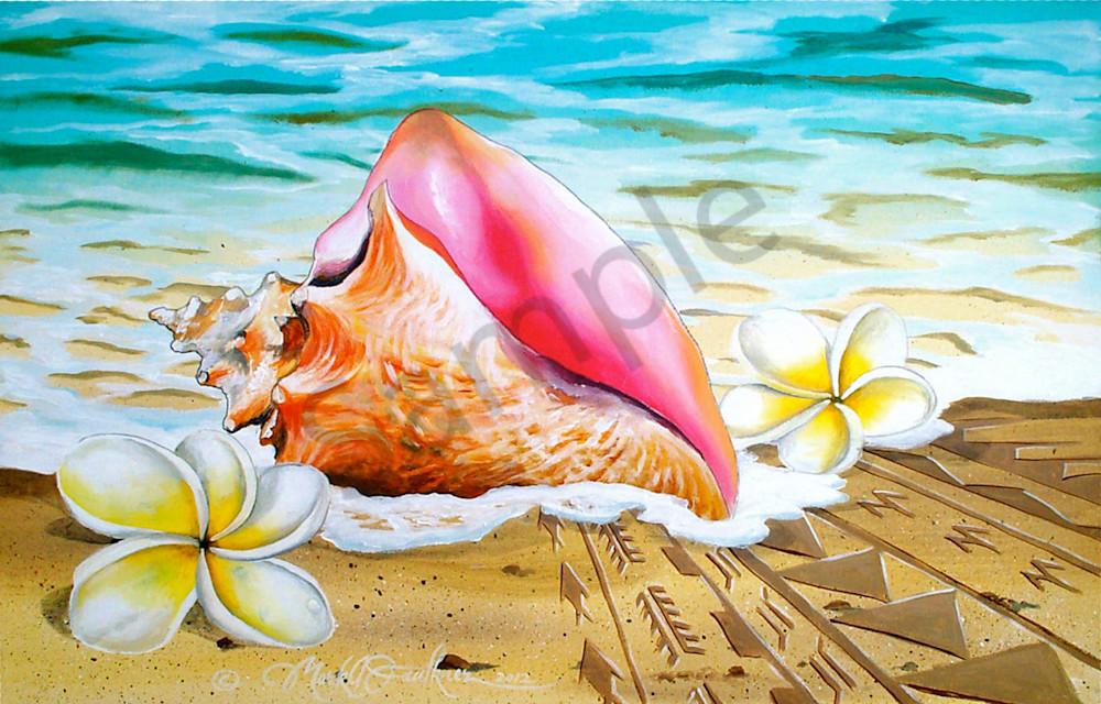 Mark Faulkner Conch Shell