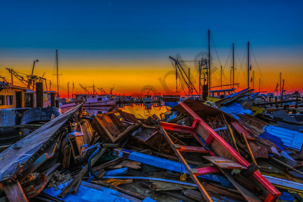 Havoc In The Harbor Photography Art | John Martell Photography