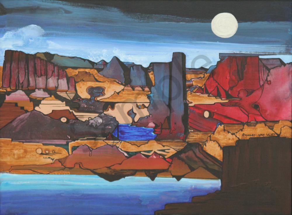Arizona Desert Scene Art