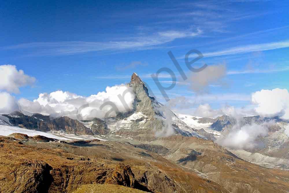 Peak of the Matterhorn photograph by Ivy Ho as fine art