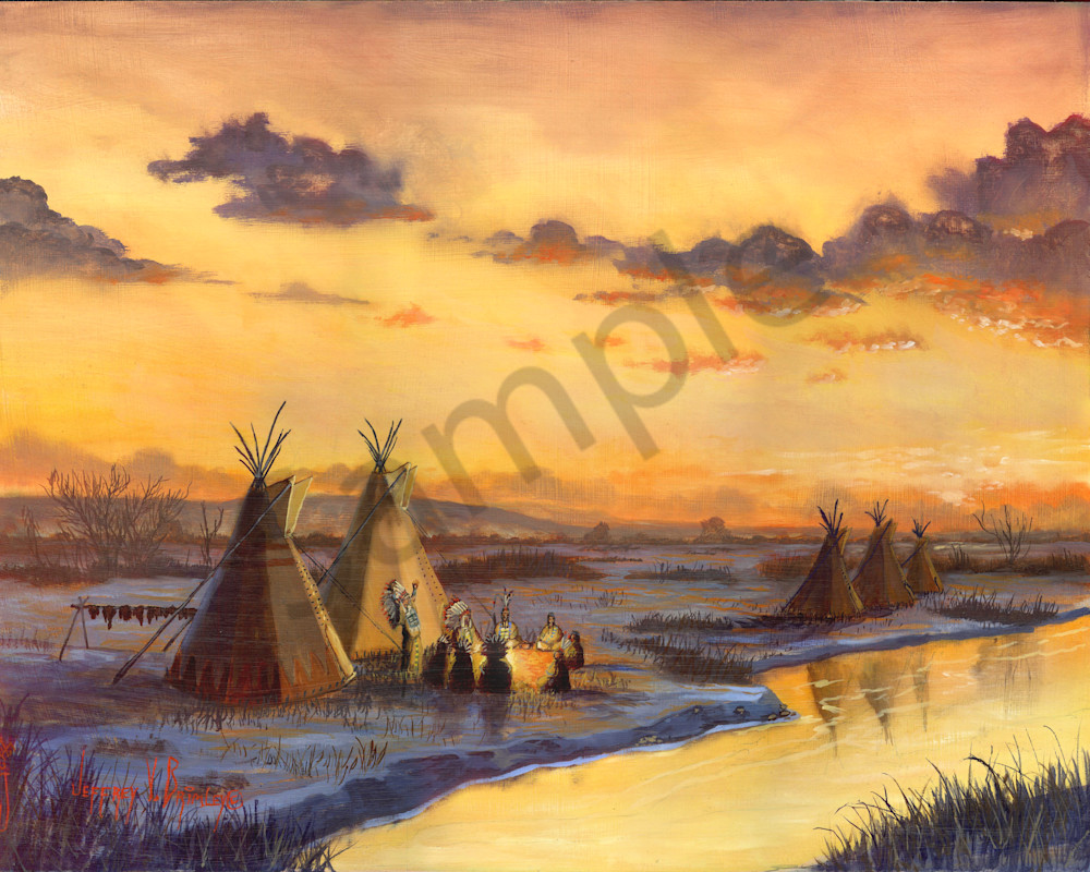 Old Friends New Stories native american prints