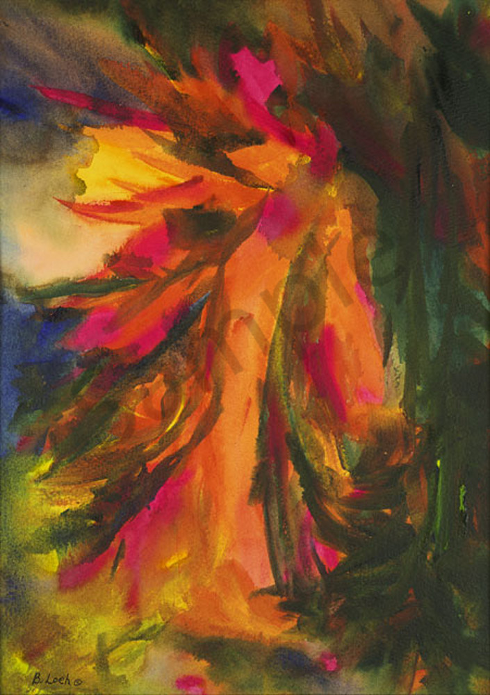 Spirit Awakening print by Bonnie Loeh.