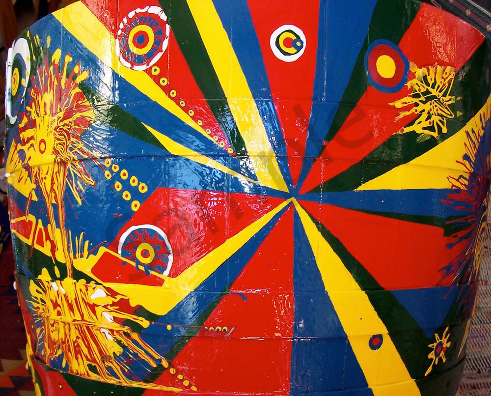 Bonanza clown rodeo abstract art