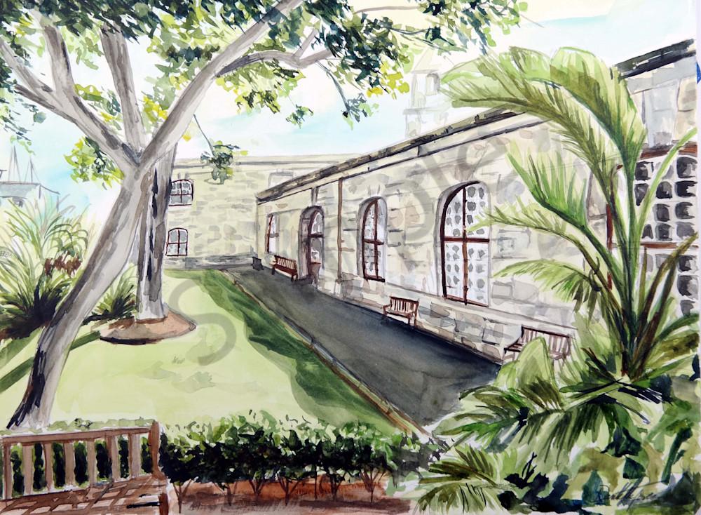 """""""Bermuda landscape print-Fine Art Prints on Canvas, Paper, Metal & More by Daniella Toscanini""""."""