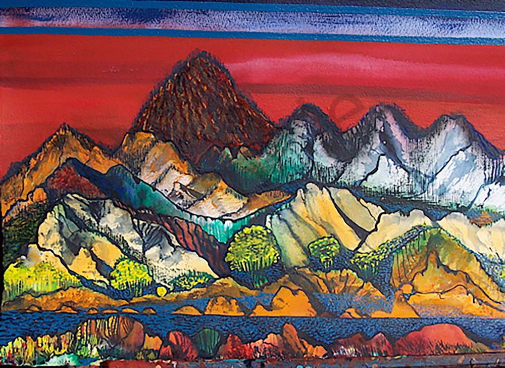 Colorado Horse Ranch art