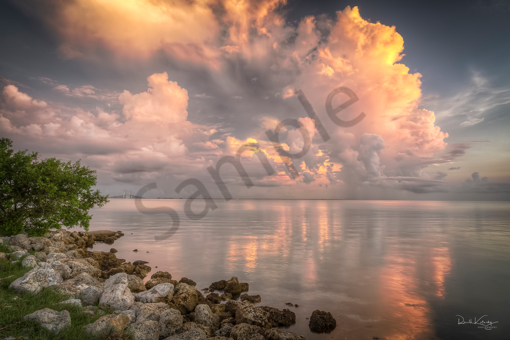 Morning Skyway Showers Photographic Art