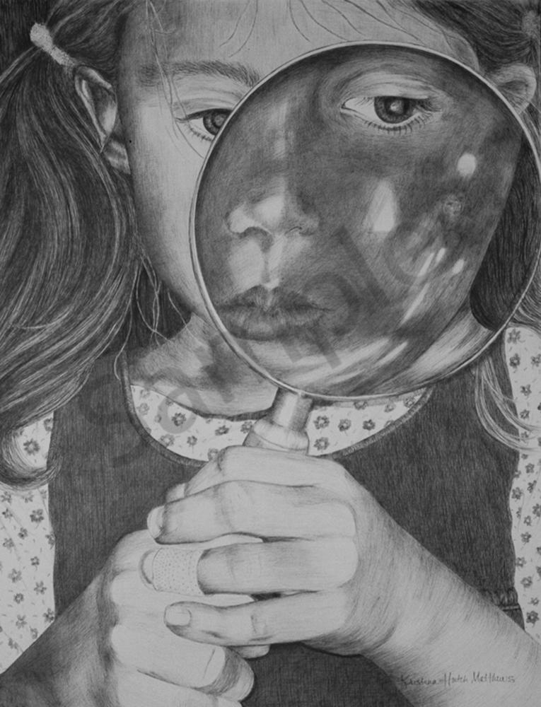 Rite Of Self Reflection Art | kristinahutchmatthews