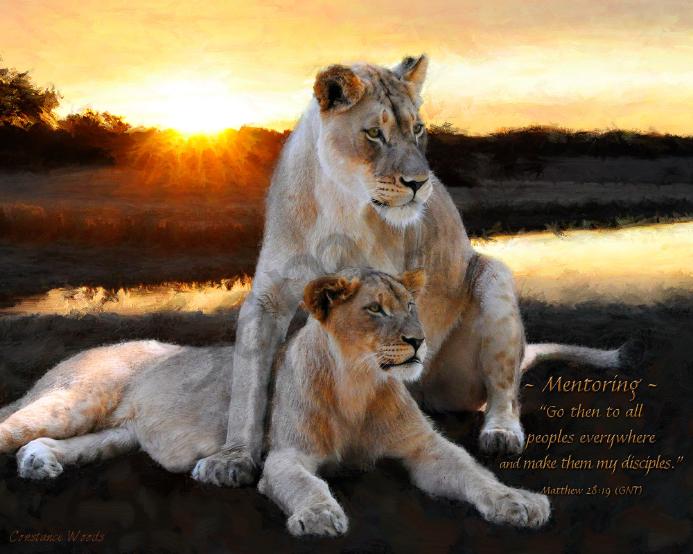 """""""Lioness Strength"""" by Constance Woods 