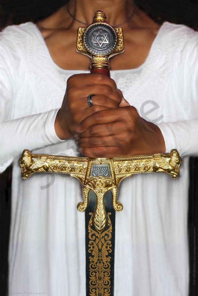 """Chayil Warrior Bride"" by Constance Woods | Prophetics Gallery"