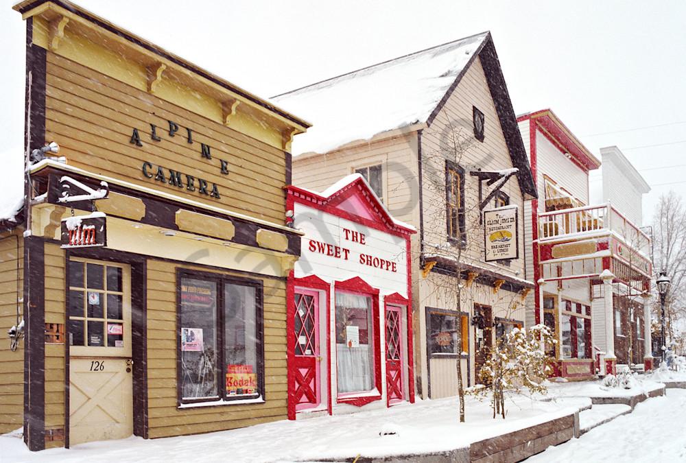 Alpine Camera snd Sweet Shop