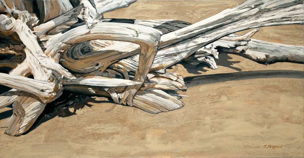 Calligraphy in Wood | Contemporary Landscapes | Gordon Meggison IV