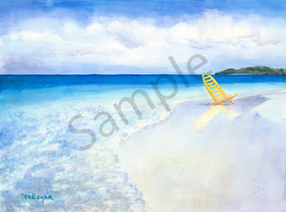 Los Roques Meditation Art for Sale