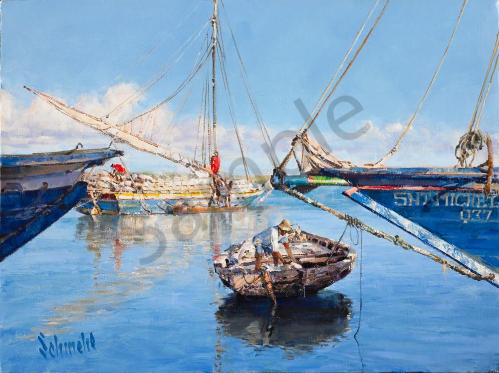 Boatmen In Paradise Art for Sale