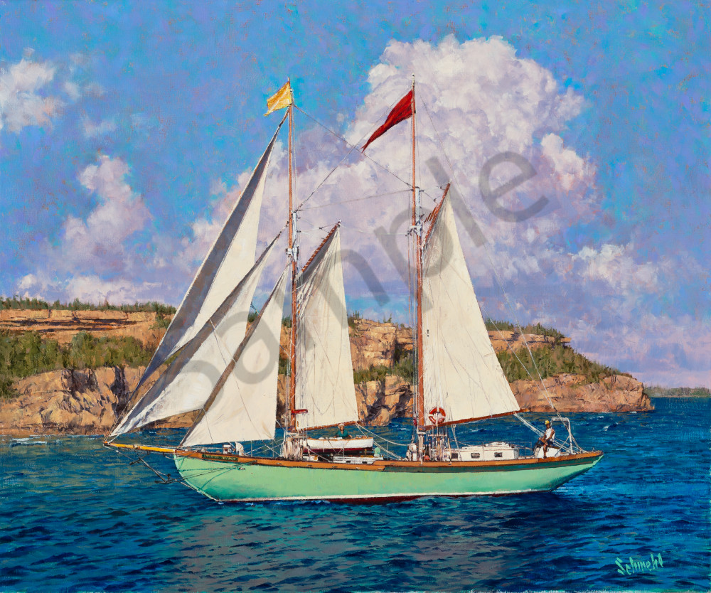 Sun-Washed Sails Art for Sale