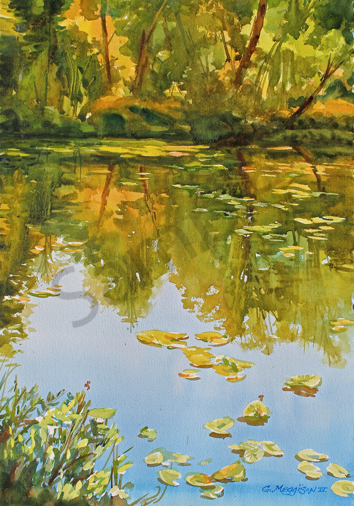 Arboretum | Watercolor Landscapes | Gordon Meggison IV