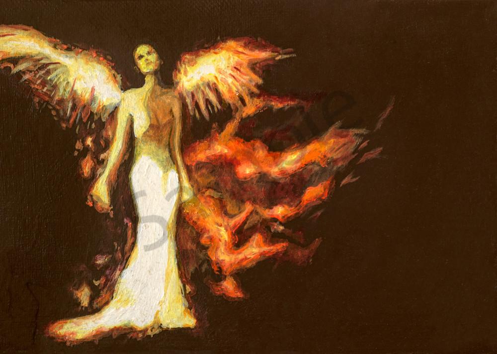Fire Angel Art | FireFlower Art