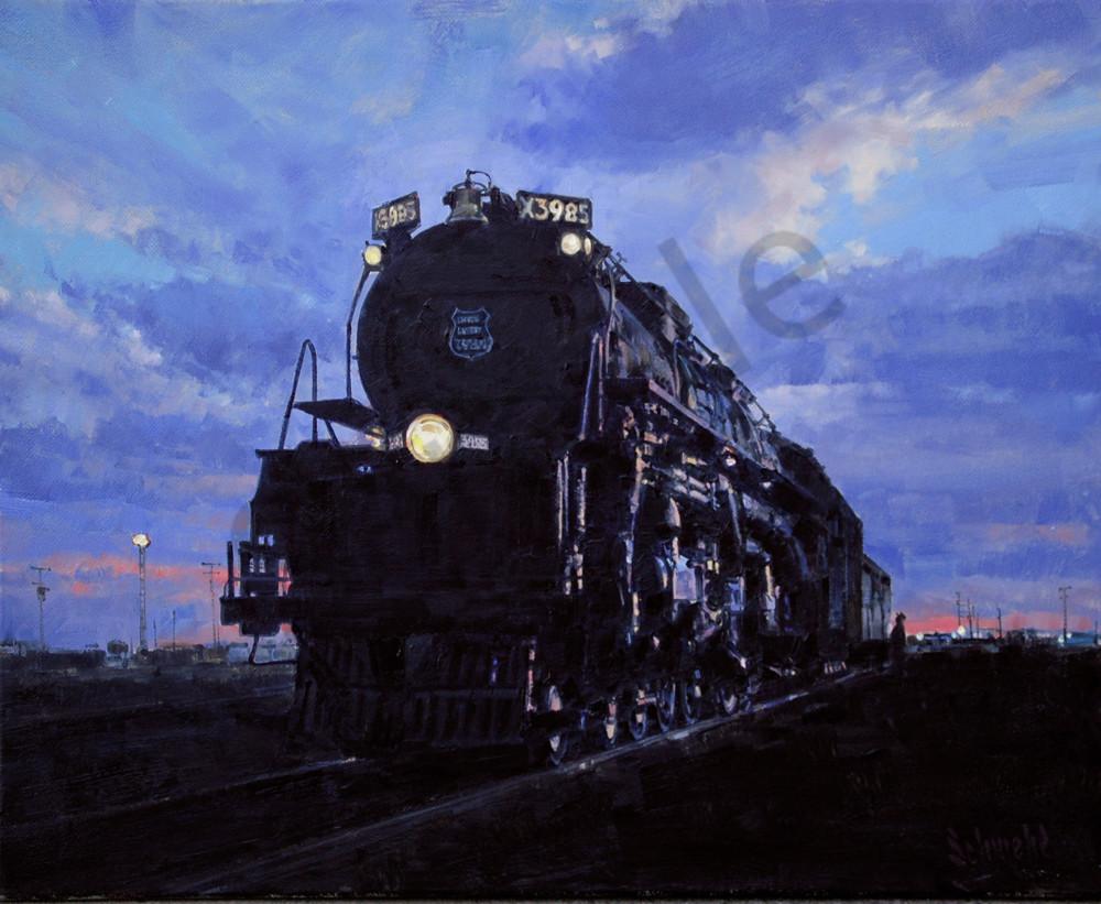 Cheyenne Twilight Art for Sale