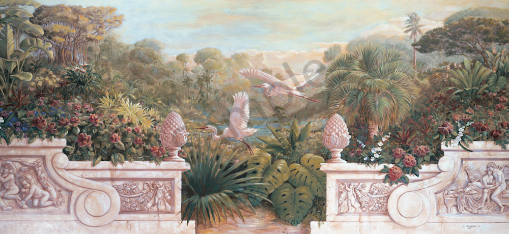 Secret Garden 5 | Murals in Classical Style | Gordon Meggison IV
