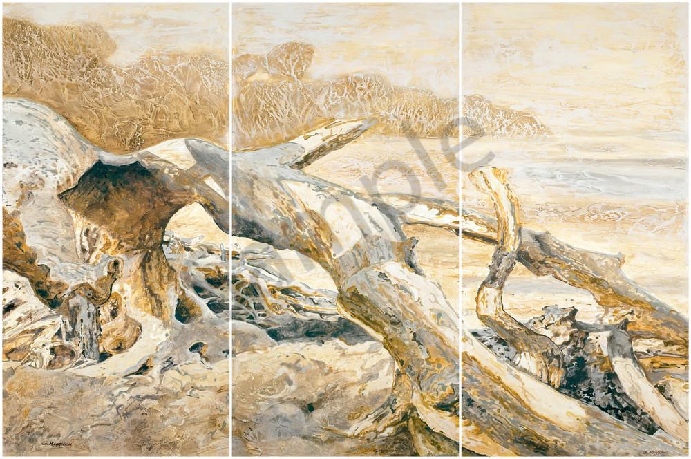 Ensembles in Golds & Greys 1, 2, 3 | Contemporary Landscapes | Gordon Meggison IV