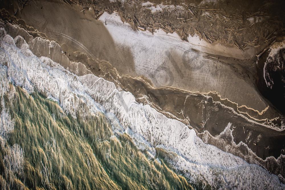 Birds Eye View East Beach Photography Art   Talon Gillis