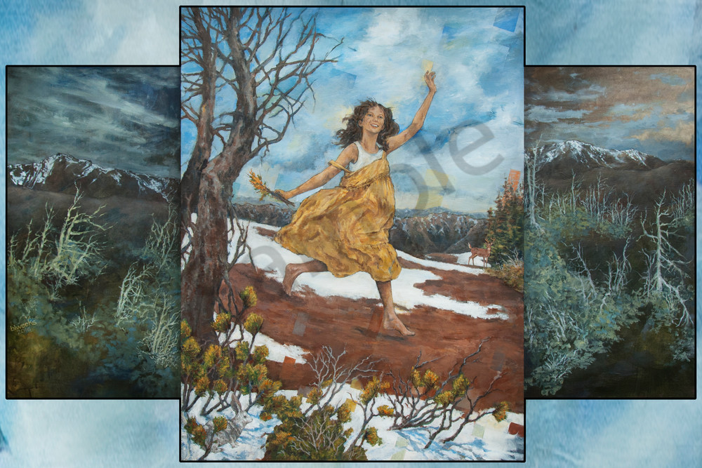"""Walking On My High Hills"" by Bruce Weeks 