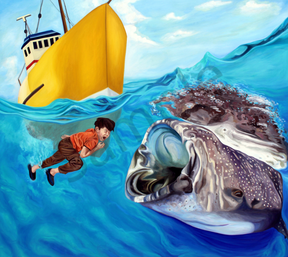 """Jonah"" by Daniel Zamitiz   Prophetics Gallery"