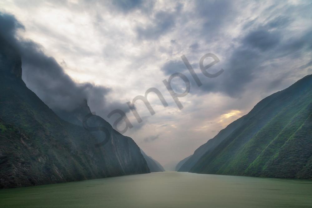 Wu Gorge Dawn, Hubei Province, China