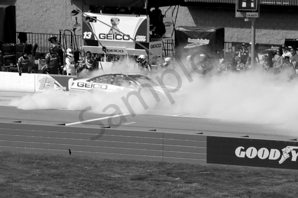 Smokin' at Auto Club Speedway