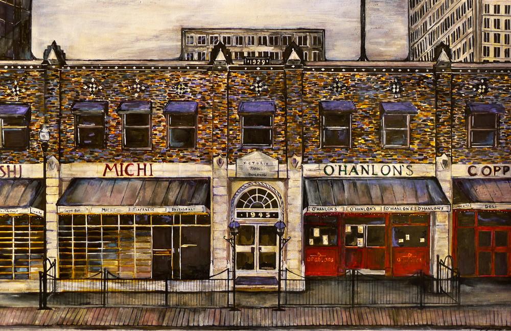 Ohanlon's Regina Building Art