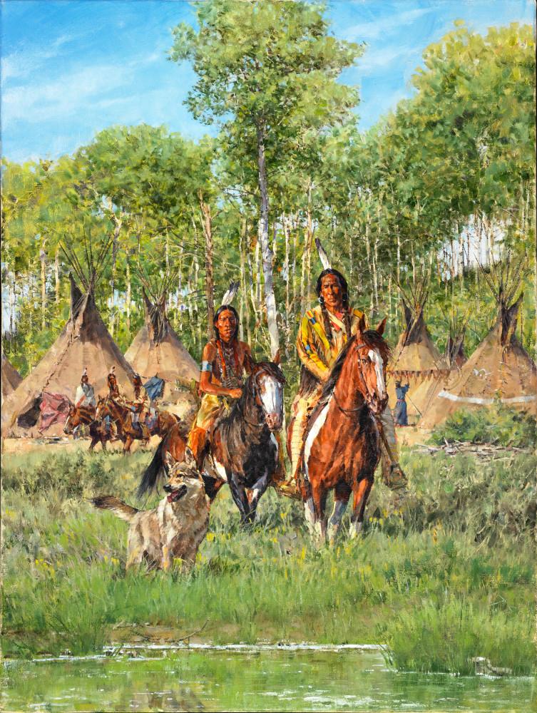 Camp In The Aspens