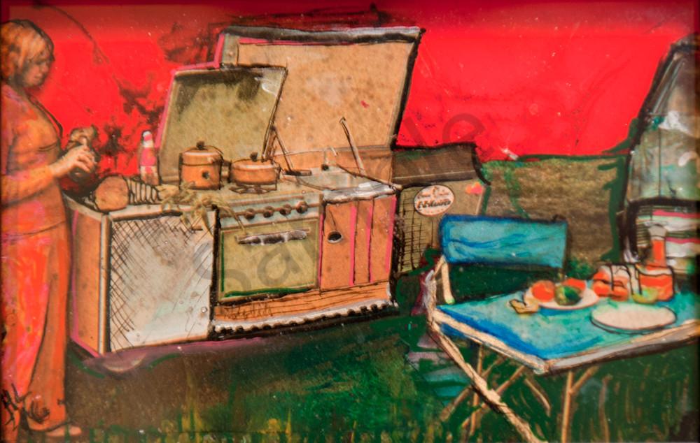 Camp Kitchen Art | Haley Litzinger