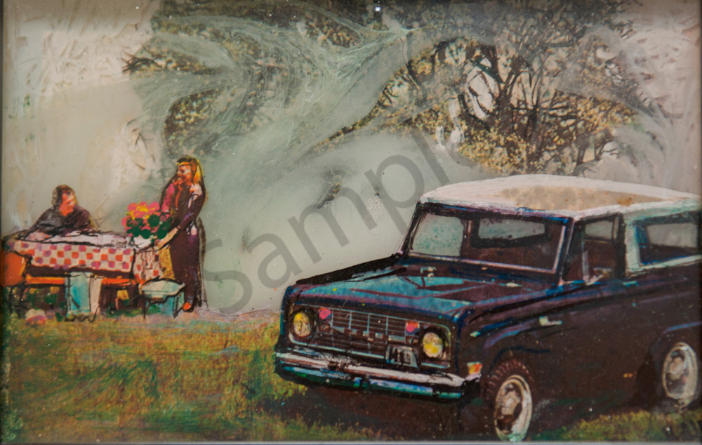 Jeep Picnic Art | Haley Litzinger