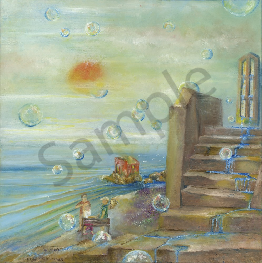 """Windows VI Healing"" by Denise Dahlheimer | Prophetics Gallery"