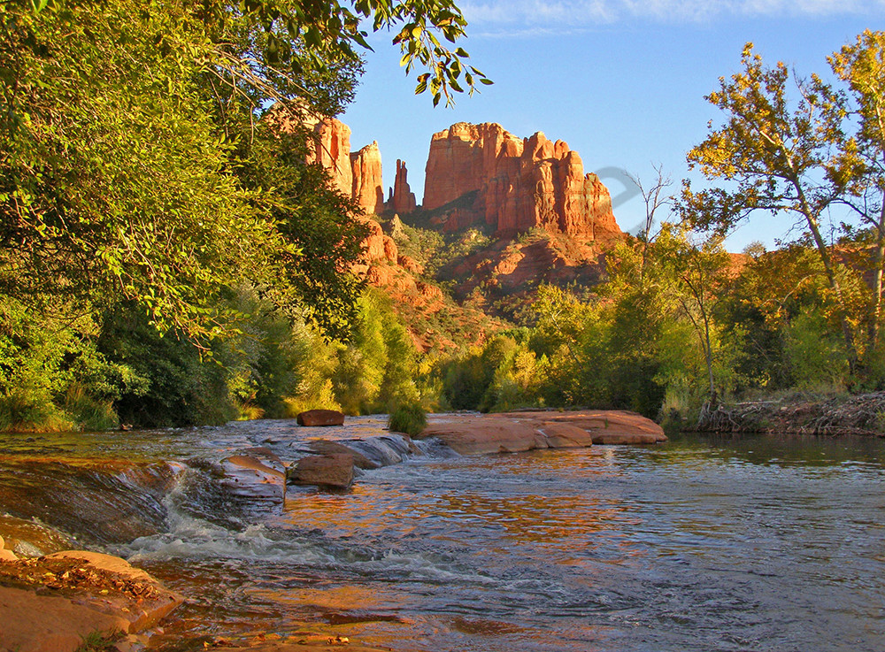 Cathedral Red Rocks at Oak Creek