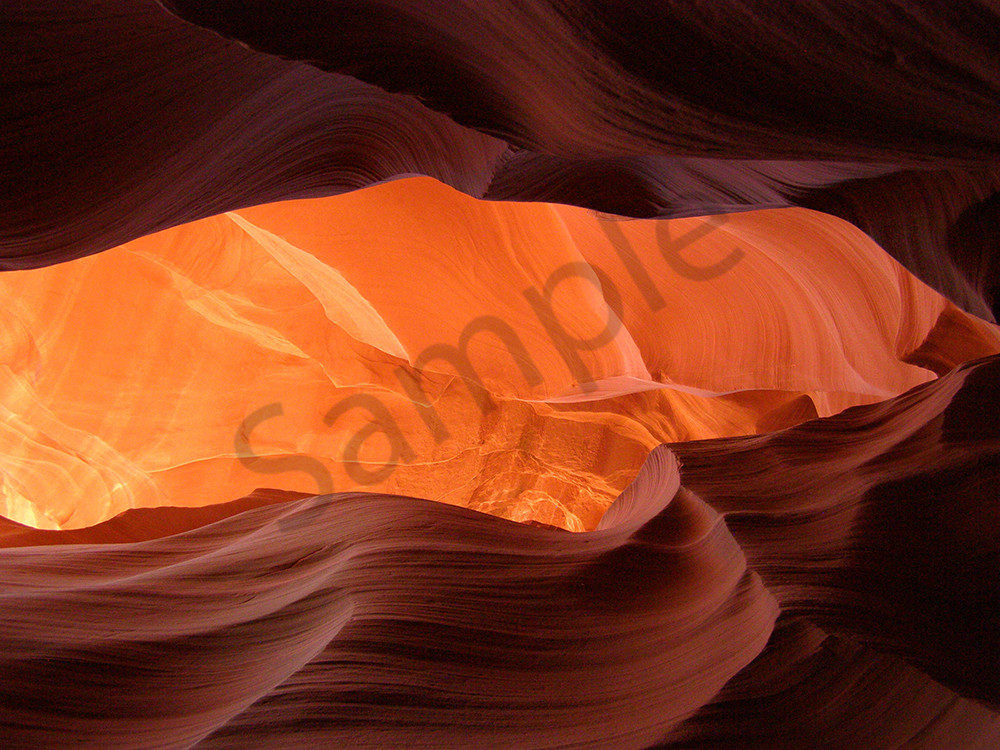 Rock Abstract in Lower Antelope Canyon