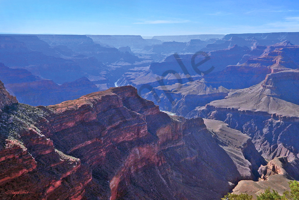 View on Rim in Grand Canyon