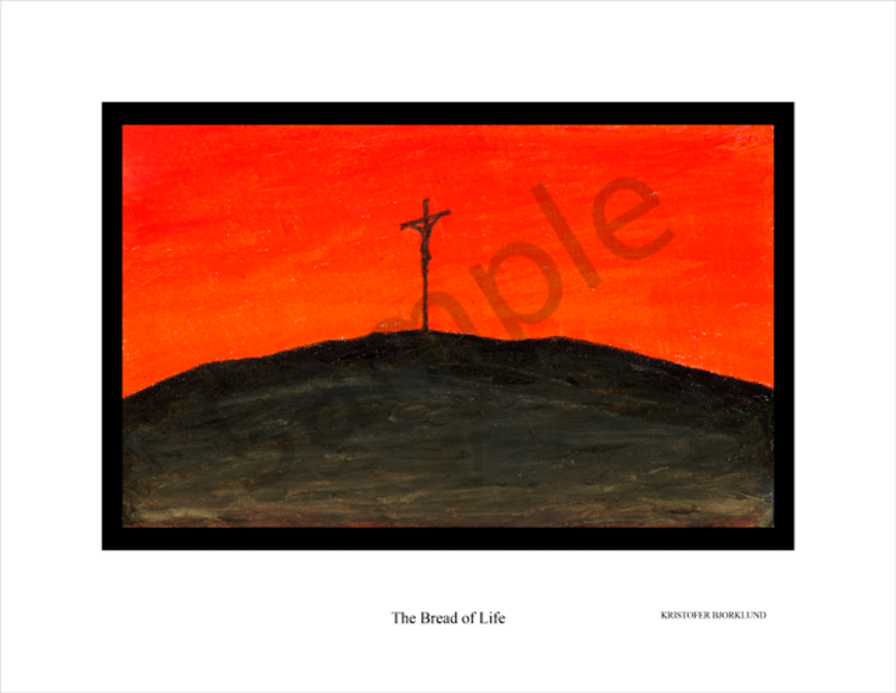 The Bread of Life fine art print by Kristofer Bjorklund.