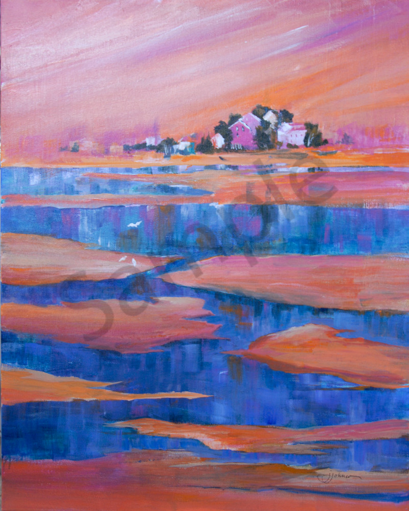"""""""Tide's Out"""" by Judy Johnson 