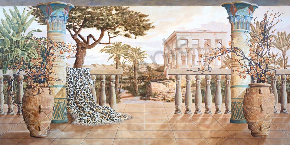 Garden of Luxor | Murals in Classical Style | Gordon Meggison IV