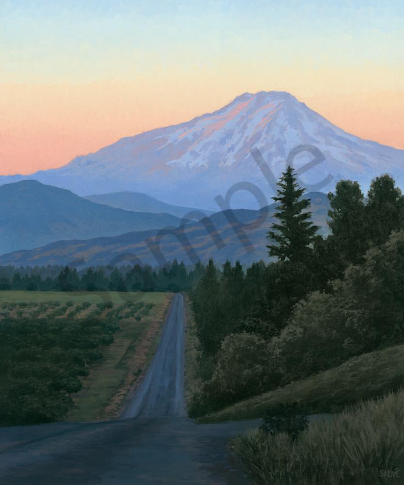 Summer In The Northwest Art   Terry Sauve Fine Art