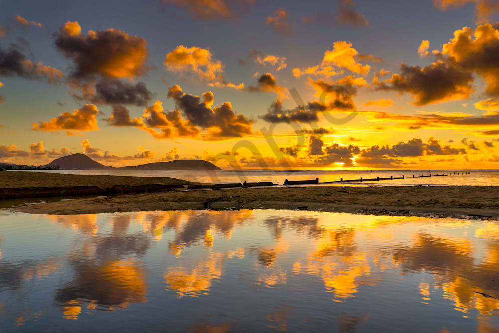 Hawaii Photography Sunray Reflections By Peter Tang