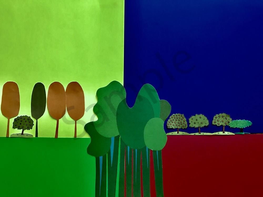 Odeta Xheka Visuals | Magical forest art prints and wall decals
