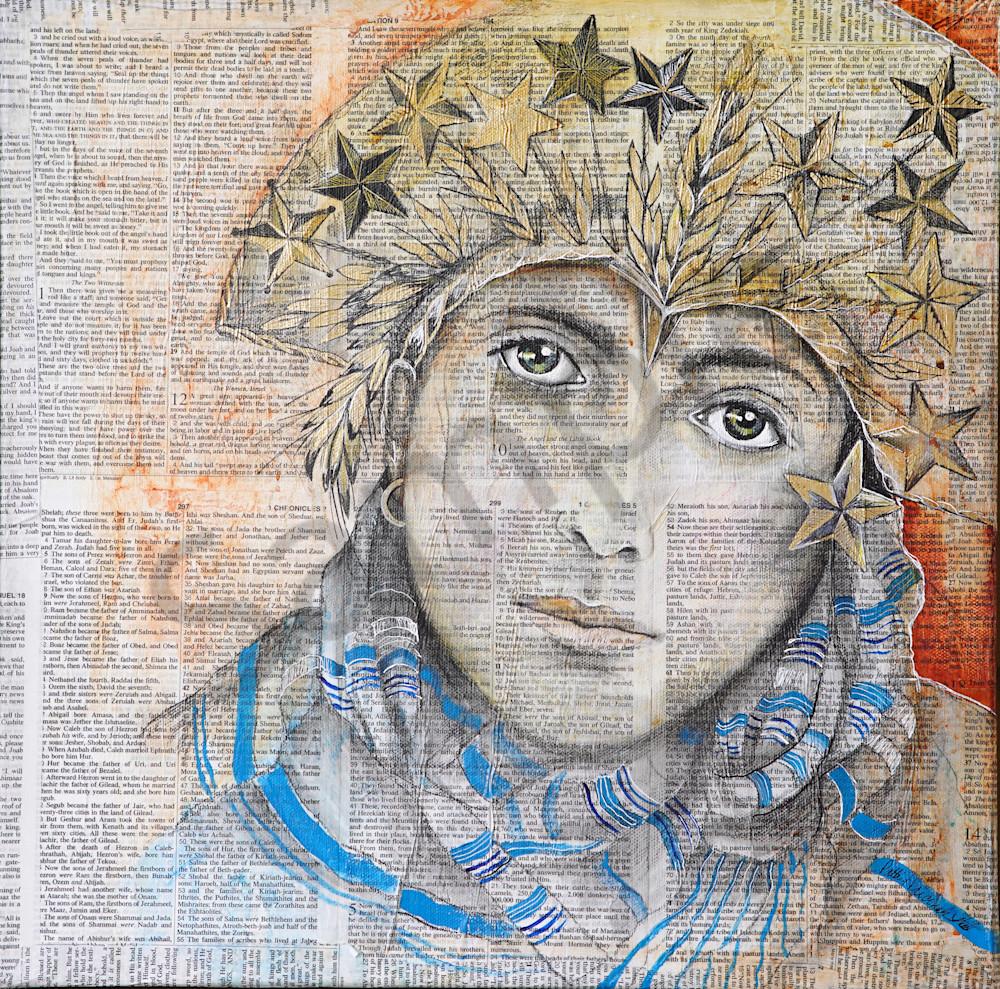 """Revelations 12:1"" by Patti Hricinak-Sheets | Propheetics Gallery"