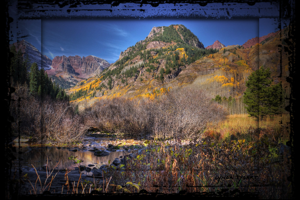 Tygart Coloradomaroonbells1 Photography Art | LYNDA TYGART  ART PHOTOGRAPHS